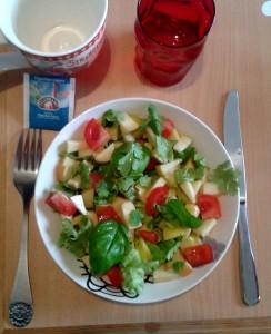 14 Juin salade pomme